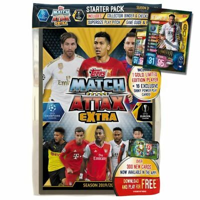 Topps Match Attax Extra Season 2019/20 Trading Card Game Starter Pack