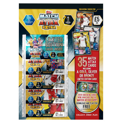 Topps Match Attax Extra Season 2019/20 Trading Card Game Multi-Pack