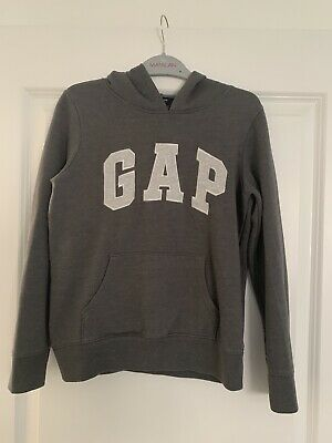 Gap Girls Grey Hoodie - Age 10-11 Years - Great Condition