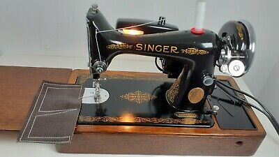 Semi-Industrial Singer 99K Elec Sewing Machine, SERVICED, PAT TEST,sews LEATHER