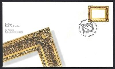 Canada    # 1853     Picture Postage Gold Leaf    New 2000 Unaddressed