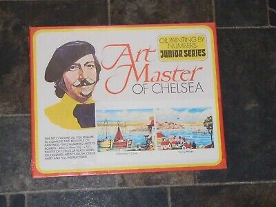 1976 Waddingtons ART MASTER OF CHELSEA Oil Painting By Numbers * NEW + SEALED *