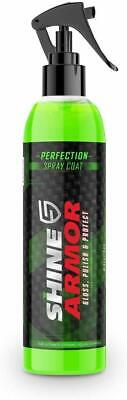 NEW! SHINE ARMOR Perfection Spray-Car Polish Wax Sealant-Hydrophobic Top Coat