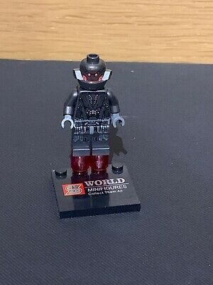 Genuine Lego Marvel Super Heroes Ultron Prime Mini Figure From Set 76031