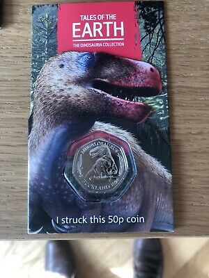 Strike Your Own 2020 Dinosaur Megalosaurus 50p