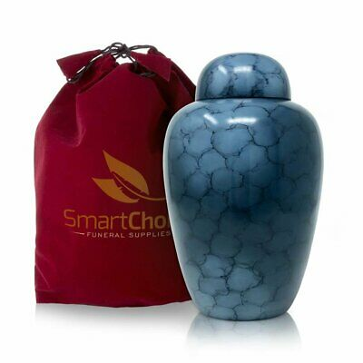 SmartChoice Cremation Urn for Human Ashes (Adult) - Memorial Funeral Vase...