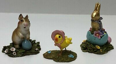 Wee Forest Folk  Easter  Extraviganza  w/ 2 retired pieces A1, A19 and A7