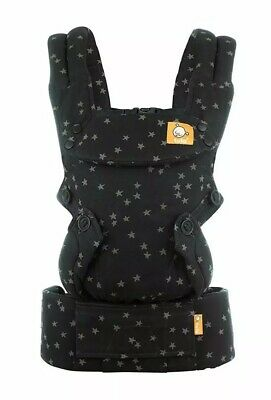 New tula Discover Explore Multi-position Baby & Toddler Carrier - Black W/ Stars