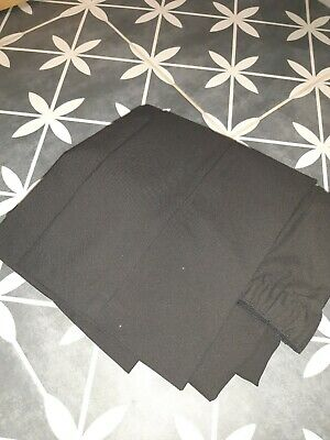 Sensory Friendly Marks and Spencer Boys Black School Trousers Age 10- Brand New