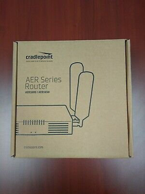 Cradlepoint AER1600LPE SP 4G LTE WWAN Modem/Router - Sprint Mobile Broadband