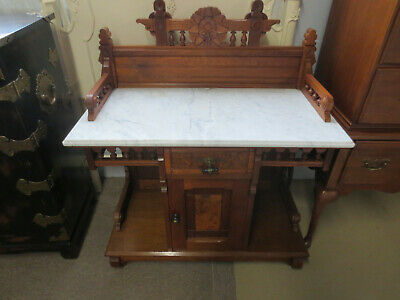 Antique Victorian Marble top Commode Washstand in great condition.