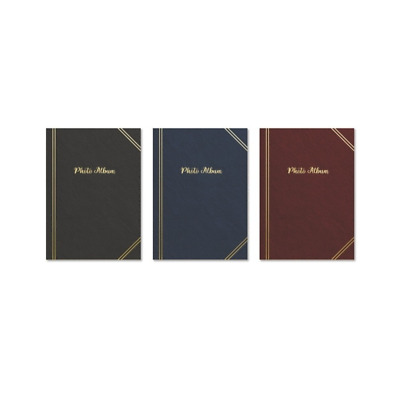 Tallon 6x4 Plain Photo Album with 200 Pockets(Assorted Colors)