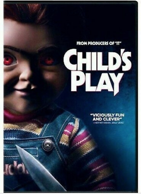 Child's Play (DVD, 2019) Brand New and Sealed
