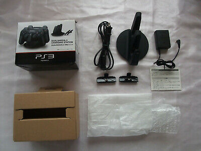 Official SONY PlayStation 3 DualShock 3 Controller Charging Station Dock PS3