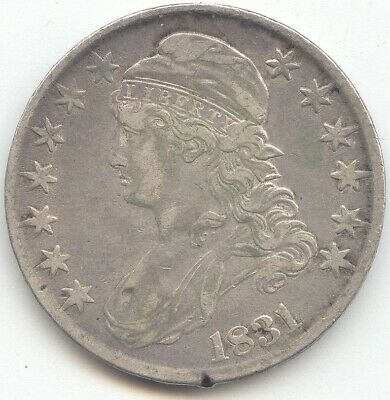1831 Capped Bust Half Dollar, XF Details