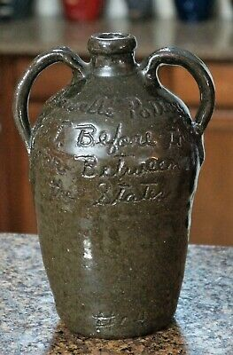 GRACE NELL HEWELL~ 2003 Turning & Burning Jug Pitcher #04 ~  perfect condition