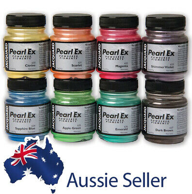 Pearl Ex Metallic Mica Powder Pigments - 14gm and 21gm - FULL RANGE OF COLOURS