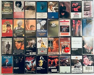 You Pick Cassette Tapes :: ALL GREATEST HITS TAPES :: Rock, 60s, 70s, 80s