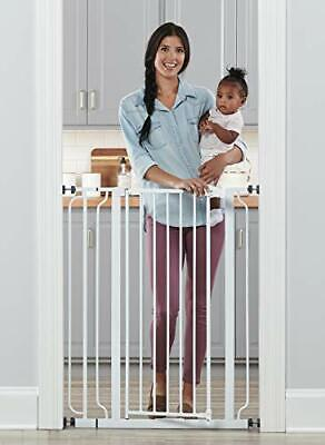 Regalo Easy Step Extra Tall Walk Thru Baby Gate, Includes 4-Inch Extra Tall 2020
