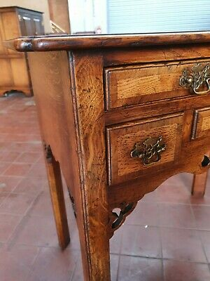 Antique/Reproduction Solid Oak Lowboy/Hall/Console/Telephone/Lamp Table