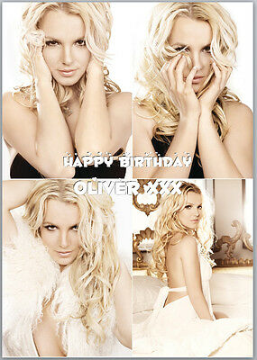 A5 260gsm Gloss Finish Personalised Britney Spears Lockdown Isolation Card
