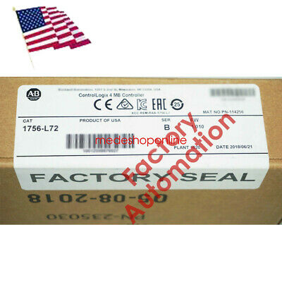 USA New Pro Allen-Bradley 1756-L72 Controller,ControlLogix 4MB Sealed Durable