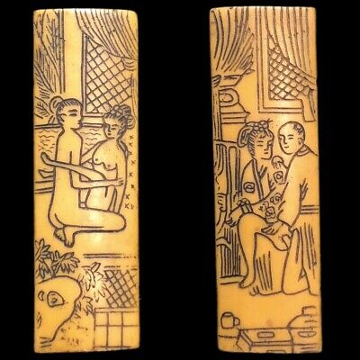 Rare Ancient Near Eastern Double Sided Erotic Panel Artefact (2)