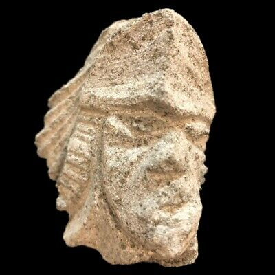 Ultra Rare Huge Stone Age Ancient Neolithic Anthromorphic Vinca Bust 4500BC (2)