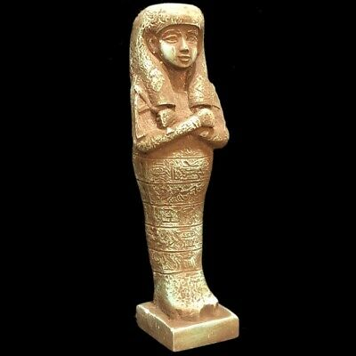 Very Rare Ancient Egyptian Hieroglyphic Shabti, Late Period (4)