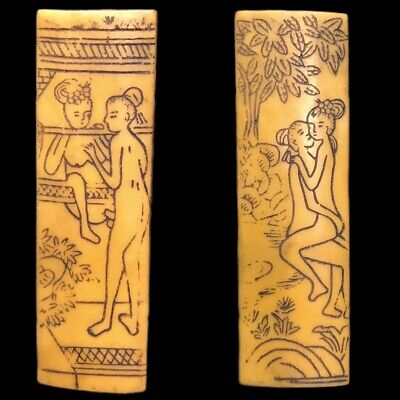 Rare Ancient Near Eastern Double Sided Erotic Panel Artefact (6)