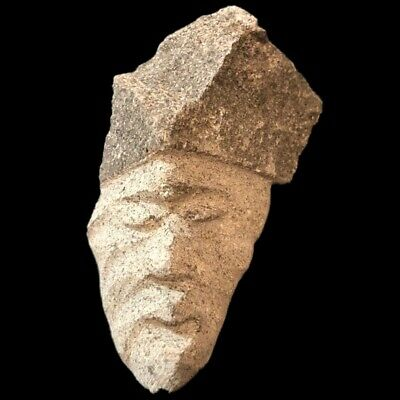 Ultra Rare Huge Stone Age Ancient Neolithic Anthromorphic Vinca Bust 4500BC (3)