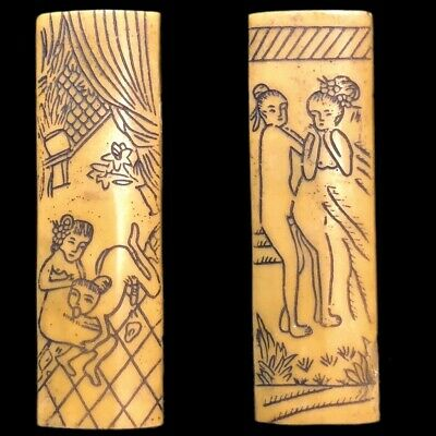 Rare Ancient Near Eastern Double Sided Erotic Panel Artefact (7)