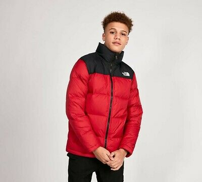 Junior The North Face Nupste Down Red Jacket (SA1) RRP £103.99