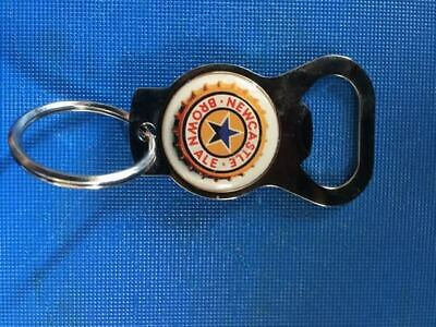 Newcastle Brown Ale Keychain, with bottle opener  NEW