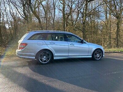 2008 Mercedes C220 CDI AMG Line, Automatic Silver, Estate, TOP SPECIFICATION