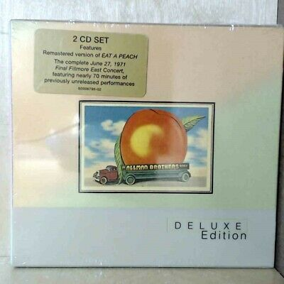 Allman Brothers Band - Eat a Peach [Deluxe] (CD, 2 Discs 2006 Mercury) 4943