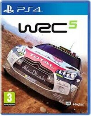 WRC 5 (World Rally Championship) - PlayStation 4 (PS4). Case and Disc.