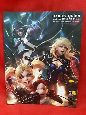 Harley Quinn & Birds of Prey #1 CVR B Chew Variant, 2020, Black Label, VF/NM
