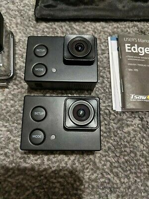 Isaw Edge 4k 10fps Full Hd 60fps Action Camera