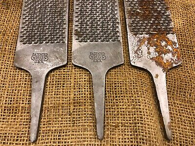 3 Quality Wide Save Edge Horse Hoof Rasp File Farrier Blacksmith Stable