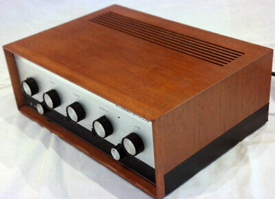 Leak Stereo 30 plus integrated amplifier. Part serviced. Wooden case.