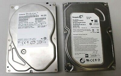 "Seagate 320Gb And Hitachi 500Gb 3.5"" Desktop Hard Drive - Tested"