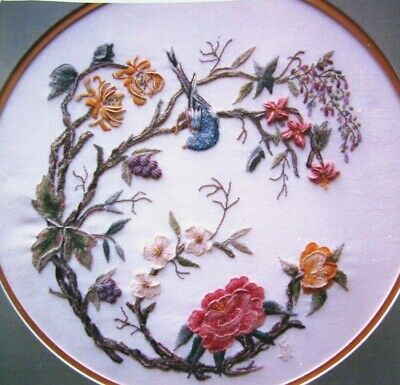 5x Embroidery Pattern  OrientalRondel/FlowersPansy/CrewelConfidence/Rodels-SU2