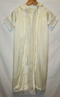 Baby Dior vintage christening gown with jacket and bonnet