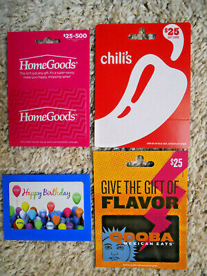 Gift Cards, Collectible, unused, new cards with backing, no value on cards (P-11