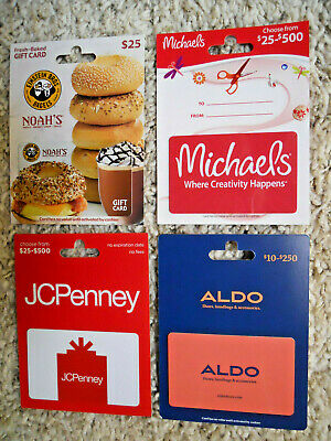 Collectible Gift Cards, new, unused, with backing, no value on cards      (O-6)