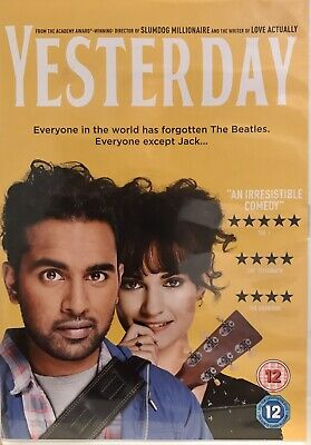 Yesterday (DVD, 2019) Preowned