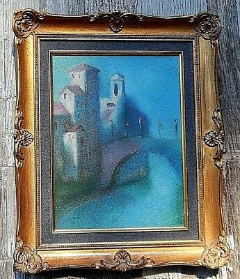 Venice, Italy, Original Oil painting, dated 1978. Beautiful Conditon throughout.