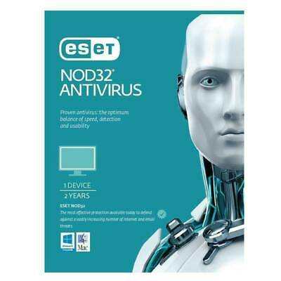 ESET NOD32 Antivirus 🔥🔥 Ver. 13 2020 🔥🔥Download edition 2 year  1pc (HOT)l!!