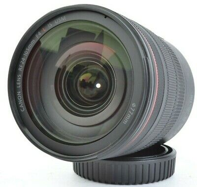 Canon RF 24-105mm f/4 L IS USM Standard Zoom Lens for EOS R, RP w/ Box #E06647